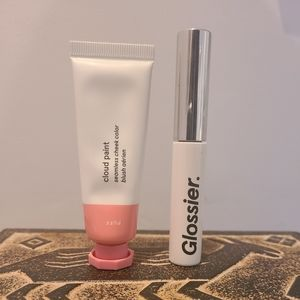New used once. Glossier Duo.